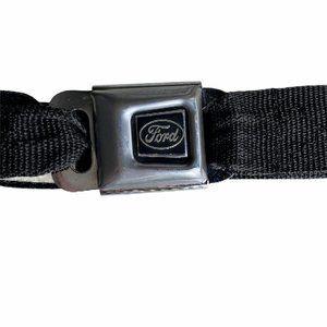 Buckle Down Skategoods Ford Logo Pants Belt Blac O